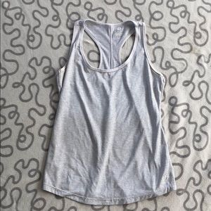 Old Navy Semi-Fitted Striped Workout Tank